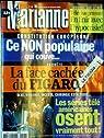 MARIANNE [No 408] du 12/02/2005 - MUSIQUE SUR LE NET - TELECHARGEMENT - CONSTITUTION EUROPEENN - CE NON POPULAIRE QUI COUVE - LA FACE CACHEE DU FIGARO - LES SERIES TELE AMERICAINES OSENT VRAIEMENT TOUT. par Marianne