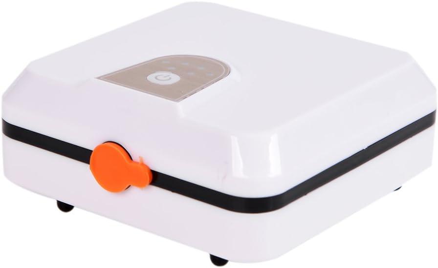 Tipo 1 Lixada Aire Libre Port/átil USB Recargable Acuario Oxigenador Bomba de Aire Silencioso USB Tanque de Peces Ox/ígeno Bomba de Aire