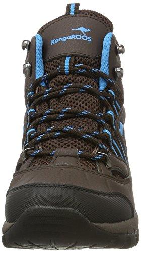 KangaROOS K-outdoor 8090 - Zapatos Mujer Braun (Dk Brown/Smaragd)