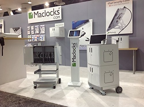 Maclocks SOLO-US CartiPad Solo Modular iPad/Tablet and UltraBook Charging Storage Cabinet for Up To 16 Devices by Compulocks (Image #4)