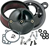 S&S Cycle Super Stock Stealth Air Cleaner Kit - Harley-Davidson Dyna/Road Glide 1993-1998 / FXR 1999 / Heritage Softail/Softail 1993-1999 / Sport Glide 1993 / Super Glide 1993-1994 - 170-0100