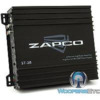 Zapco ST-2B 2 Channels Class Ab Amplifier, Black