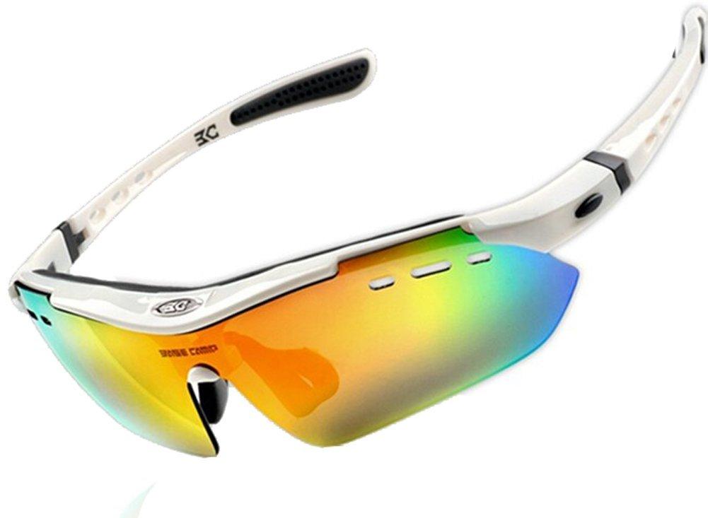 Men Lightweiht Polarized Sunglasses Bike Cycling Sport UV Glasses Eye Wear