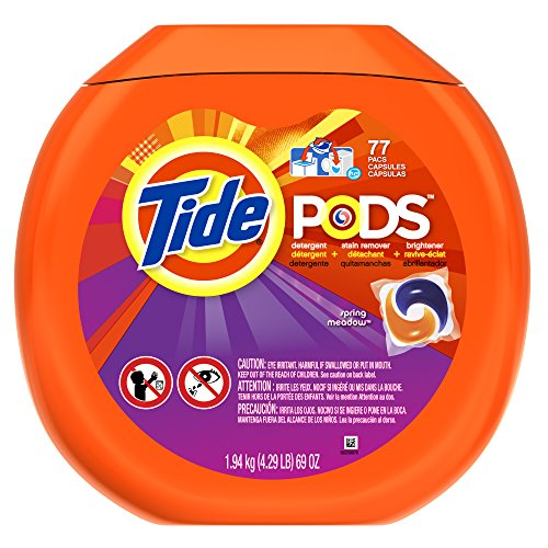PODS Spring Meadow HE Turbo Laundry Detergent Pacs 77-load - Meadow Pods
