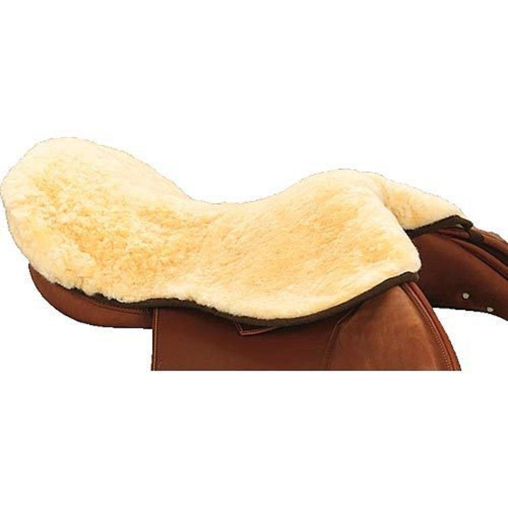 E.A Matte Sheepskin Seat Saver, Natural, Large