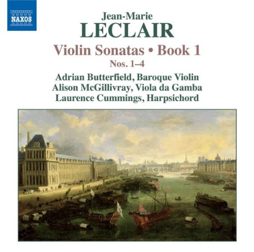 Leclair Sonata (Leclair: Violin Sonatas, Book 1, Nos. 1-4)