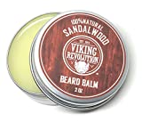 #8: BEST DEAL Beard Balm with Sandalwood Scent and Argan & Jojoba Oils - Styles, Strengthens & Softens Beards & Mustaches - Leave in Conditioner Wax for Men by Viking Revolution