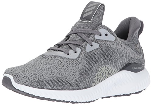ae1fdd445 adidas Boys  Alphabounce HPC AMS j Running Shoe Heather Grey Four White