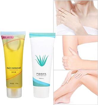Set de crema para depilación, solución de reparación de crema ...