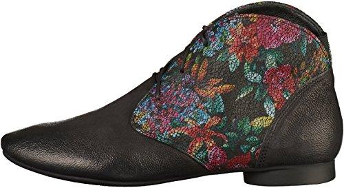 5 Think Boots UK Desert Women's Black Black Guad XwZnZ1qB
