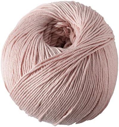 DMC Ovillo de Lana Media Natura, 100 % algodón, Color 03, 100% algodón, Lobelia N82, 9.0 x 9.0 x 7.0 cm: Amazon.es: Hogar