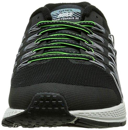 Niños Pltnm Reflect Pegasus Flash Nike Gs Negro Plateado Silver Running Zoom pr 32 De black Zapatillas BZwxa8wTq