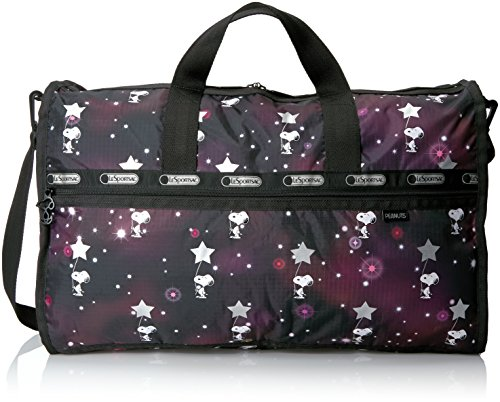 Snoopy Stars (LeSportsac Women's Peanuts X Large Weekender, Snoopy in the)