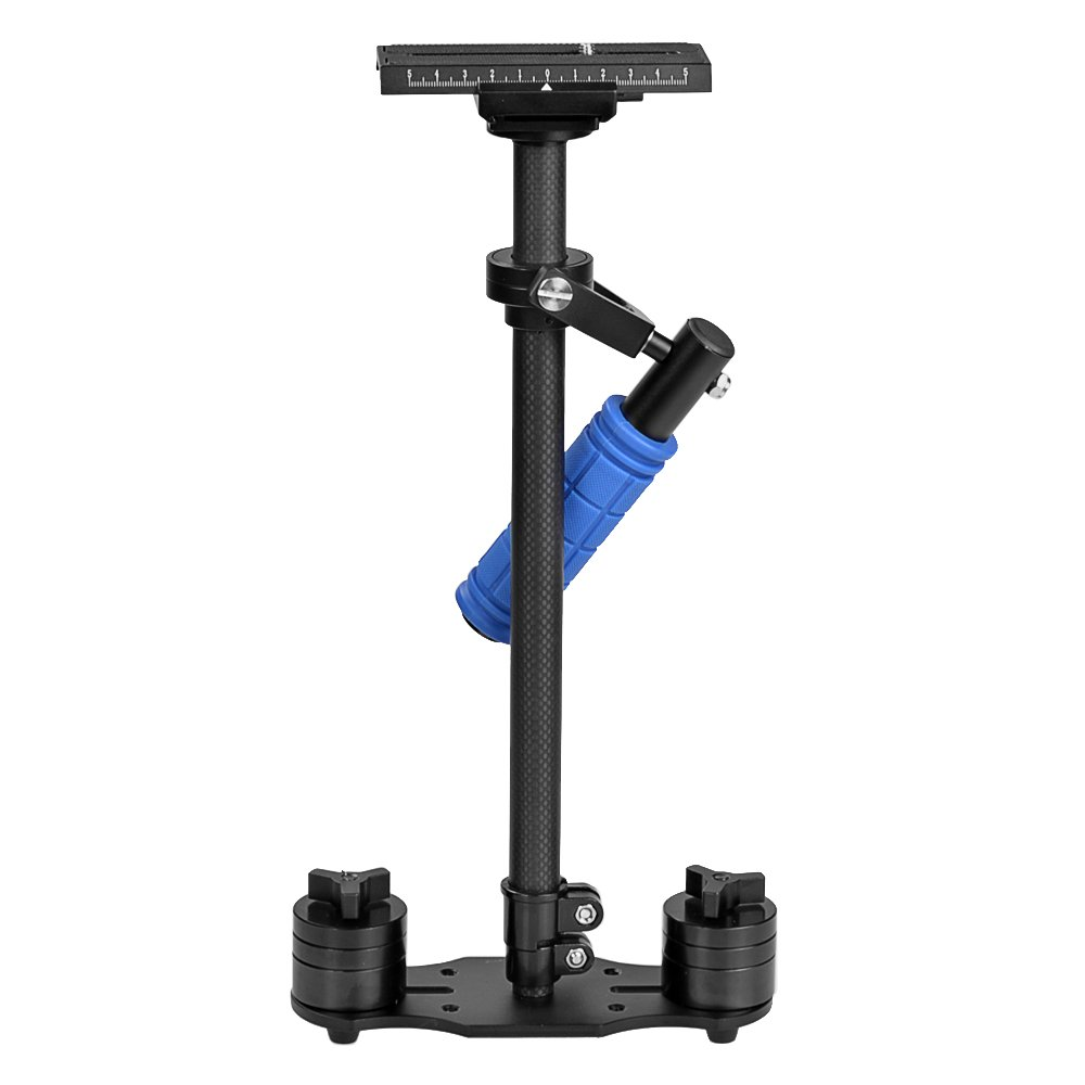 Handheld Camera Stabilizer, ASHANKS Carbon Fiber DSLR Steadicam for Camcorders SLR DSLR 7D 600D 700D D5200 D3200 Video Camera and DVS HD2000