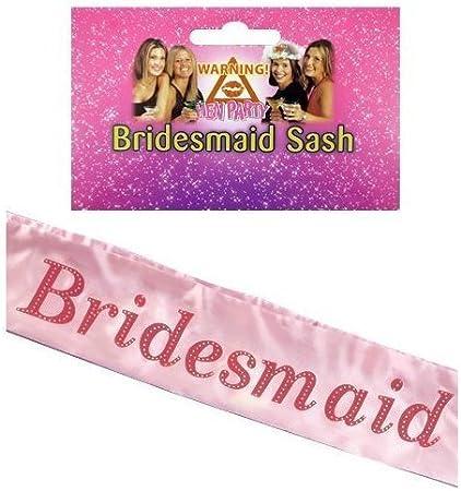 Bridesmaid Hen Party Sash