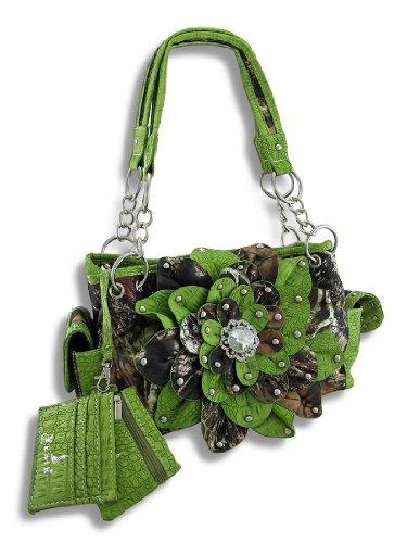 Bolso Al Para Zeckos Mujer Verde Hombro waqddUS