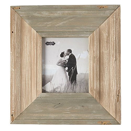 Mud Pie 24 Inches x 22 Inches Reclaimed Wood Frame (Mud Frame Pie Wood Picture)