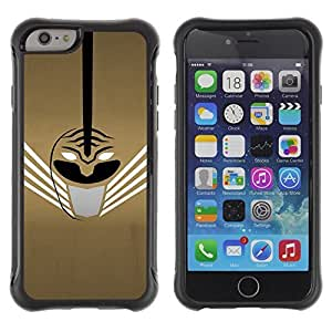 iArmor Hybrid Anti-Shock Defend Case / Abstract Mask / Apple iPhone 4s
