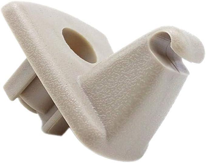 Wxgy Kunststoff Pop Up Durable Sonnenblende Clip Hängen Haken Ersatz Lagerung Halter Fahrzeughalterung Für Chrysler 300c Auto Interieur Küche Haushalt