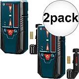 Bosch Tools LR6 Long Range Line Laser Receiver for GCL2-160 2-Pack