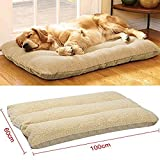 Dulcii Large Comfy Puppy Pets Dog Cat Kitten Bed Cushion Pillow Nest Mat,Easy Washing,100×60cm/40 * 25inch