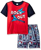 The Children's Place Big Boys Rock Out Short Sleeve, Sail Red, Small/5-6