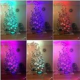 TreeTronics Color Wheel 2.0 – for Vintage Aluminum Christmas Trees - Mid Century Modern – Artificial Retro, Silver MCM Xmas