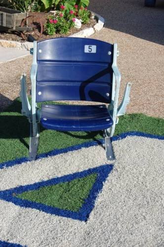 COMPLETE SEAT Texas Stadium Chair Home Of The Dallas Cowboys COA