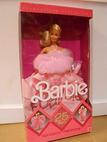 Amazon.es: Walmart 25th Anniversary Pink Jubilee Blonde Barbie ...