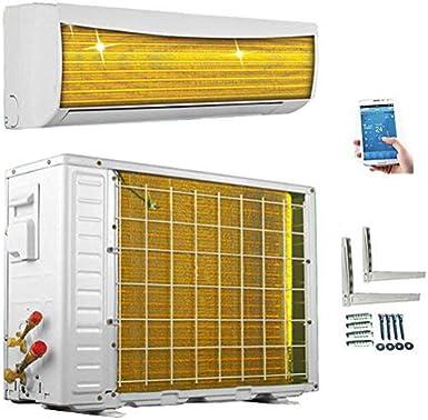 ECO Smart Inverter WiFi WLAN Golden-Fin 24000 BTU 7 kW Split Klimaanlage mit W/ärmepumpe INVERTER Klimager/ät und Heizung SmartHome A++//A+