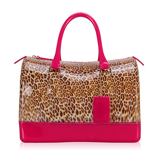 Jelly Purse Handbag (Hynes Victory Woman Jelly Candy Tote)
