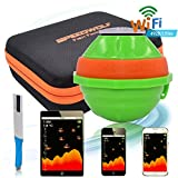 SPEEDWOLF 492ft Long Distance Portable Wireless Sonar WIFI Sounder Fish Finder Chartplotter Graph Review