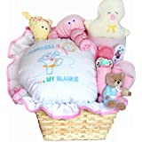Happiness is a New Baby Girl Gift Basket