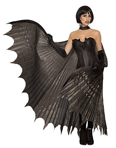 Forum Novelties, Bat-Theatrical Wings, Black, Standard ()