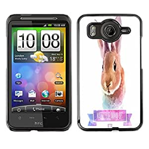 Dragon Case - FOR HTC G10 - Cute little rabbit - Caja protectora de pl??stico duro de la cubierta Dise?¡Ào Slim Fit