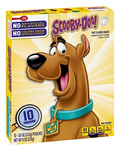 Betty Crocker Snacks Scooby Doo Fruit Flavored Snacks, 10 Count (Pack of 8)
