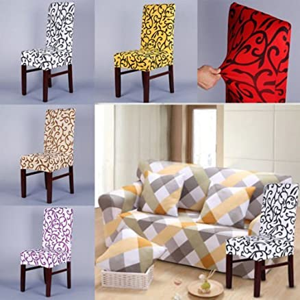 Copertura della sedia Fodere coprisedia per sala da pranzo ...