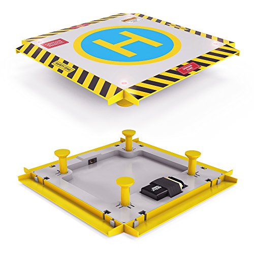 Remote-Control-Helicopter-Landing-Pad-Complete-Edition-LED-Lights-Installed-Suitable-for-RC-Helicopters-Quadcopters-Drones-Syma-Helicopters