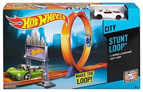 hot wheels city stunt loop trackset buy online in uae. Black Bedroom Furniture Sets. Home Design Ideas
