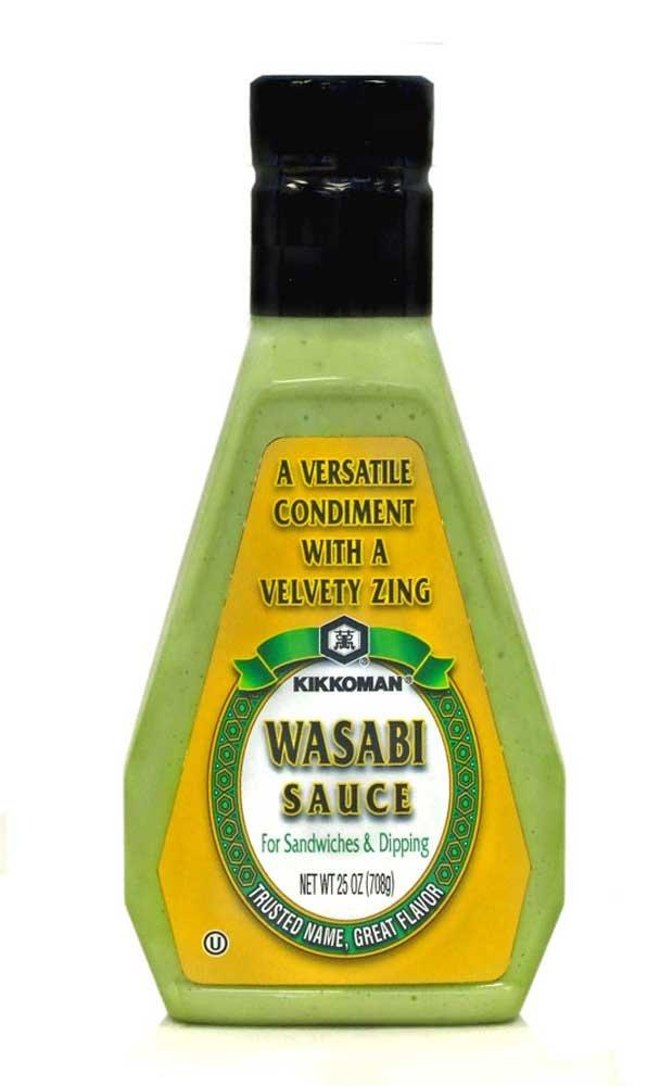 Kikkoman Wasabi Sauce, 25 Ounce - 12 per case.