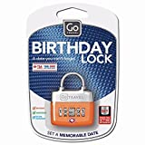 Design Go Birthday Lock - Assorted 355