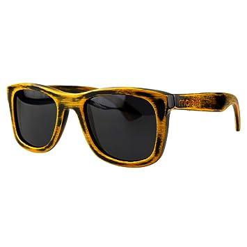 Gafas de Sol de Madera de Bambú – Estilo Wayfarer - 100% Hechos a Mano