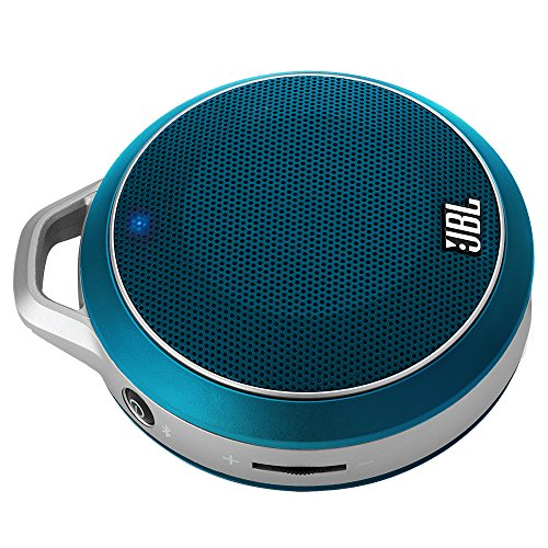 JBL Micro Wireless Bluetooth Speaker- Each (Blue)