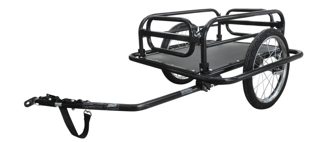 Unbekannt Remorque vélo 69 x 73 x 18, 5 cm Noir Sonstige 640060