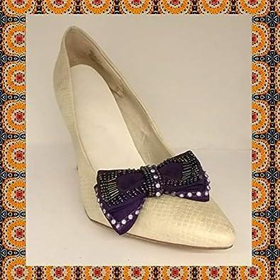 La Loria Mujer Clips de Zapatos Purple Opera Decoraciones ...