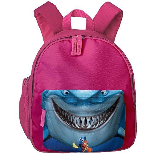 Finding Nemo Bruce Costume (Unisex Baby Kid Finding Nemo Bruce Preschool Bag Backpack Satchel Rucksack Handbag Pink)