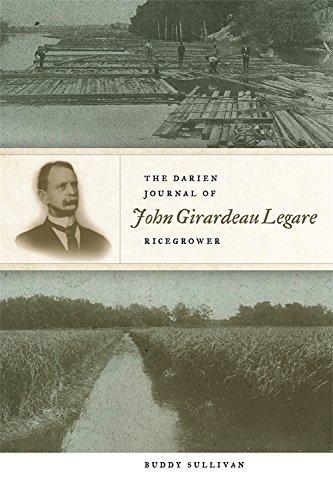 Download The Darien Journal of John Girardeau Legare, Ricegrower ebook