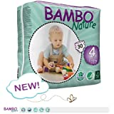 Bambo Nature Maxi Baby Diapers, Size 4 , 30 by Bambo Nature