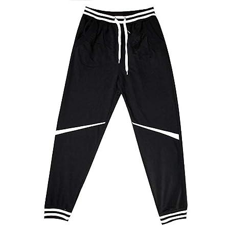 Weentop Pantalones de chándal para Hombre Harem Casual Baggy ...