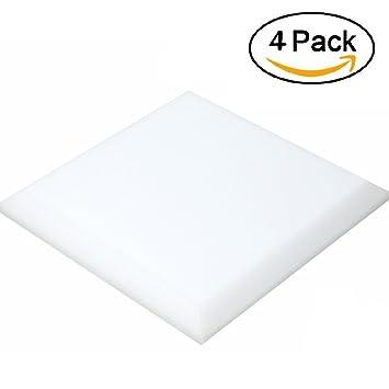 ea-stone paneles de espuma acústica 4/6 pack, 19,6 x